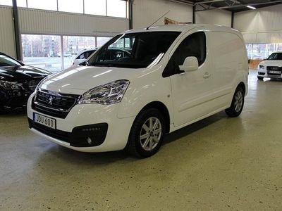 begagnad Peugeot Partner 1.6 BlueHDi AUT WEBASTO EGS Euro 6 3-SITS 2015, Transportbil 79 900 kr