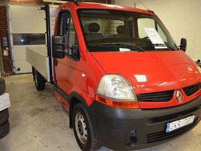 begagnad Renault Master 2,5dCi 120hk Pick-Up YdreFlak Drag