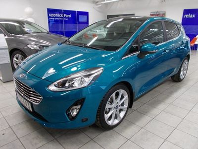 begagnad Ford Fiesta Titanium EcoBoost 100hk Aut Låg Skatt