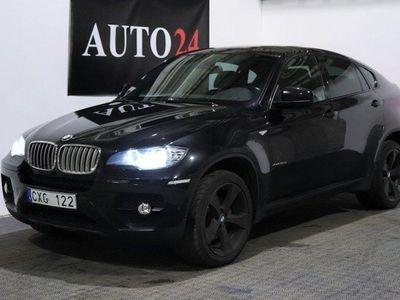 begagnad BMW X6 xDrive 40d Skinn Soltak GPS D-värmare -12