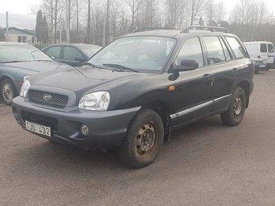 begagnad Hyundai Santa Fe 2.4 4WD Nybes Nyservad K-rem
