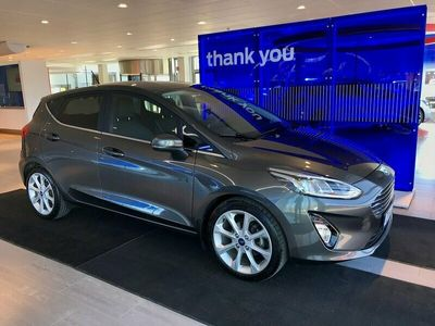 begagnad Ford Fiesta 1.0T (100hp) EcoBoost Titanium 5dr