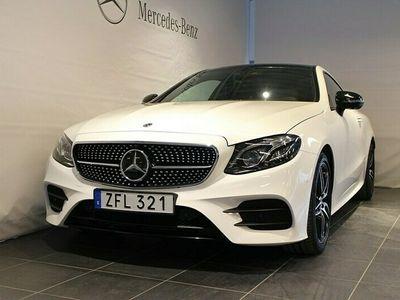 begagnad Mercedes E220 Coupé