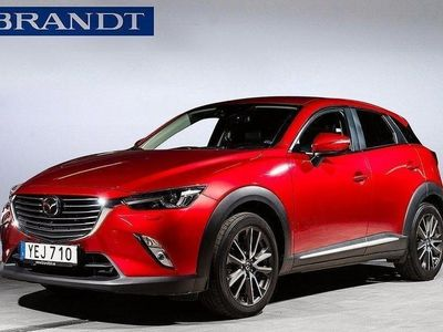 begagnad Mazda CX-3 1.5 105hk AWD Automat Optimum