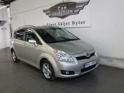 begagnad Toyota Corolla Verso 1.8 VVT-i 7-sits 129hk