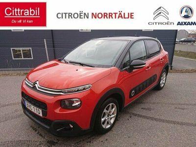 begagnad Citroën C3 SHINE 110hk AUTOMAT 1.2 PureTech