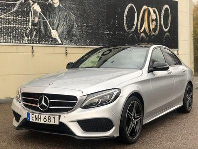 begagnad Mercedes C220 d 7G AMG+Panorama