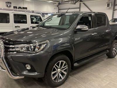 begagnad Toyota HiLux Premium 2,4 4WD