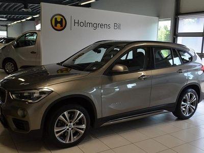 begagnad BMW X1 xDrive20d Model Sport Aut / Navi / Drag