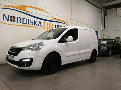 begagnad Peugeot Partner Skåpbil 1.6 BlueHDi3 Sits Euro 6 Leasingsbar 75hk
