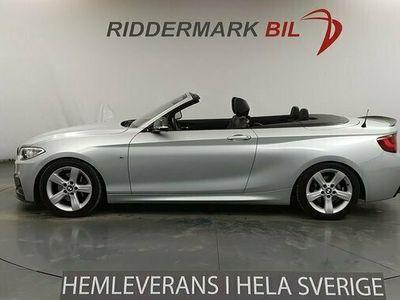 begagnad BMW 220 220 i Cab Eu6 184hk M-Sport Skinn Låga mil Välskött