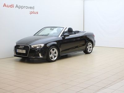 begagnad Audi A3 Cabriolet 1.4 TFSI 150 hk S-tronic Sport