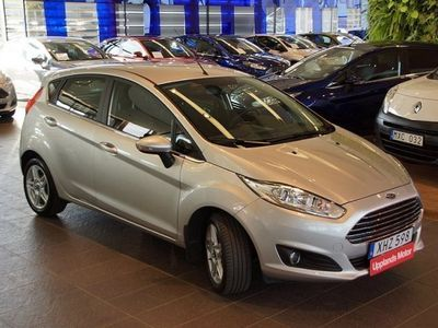 begagnad Ford Fiesta 1.0 100 Titanium 5-d -15