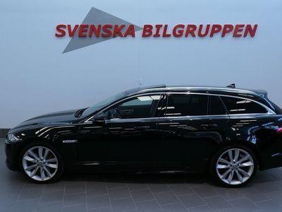 begagnad Jaguar XF Sportbrake 3.0 Aut 275hk Sollucka Läder Nav