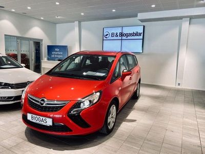 begagnad Opel Zafira Tourer 1.6 CNG Biogas 7-sits