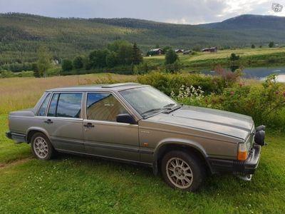 used Volvo 740 GL rostfri Jämtlandsbil -86