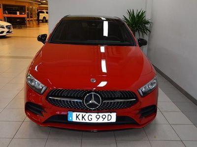 begagnad Mercedes A180 AMG Sport Panorama Euro 6 136hk