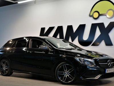 begagnad Mercedes CLA220 Shooting Brake d   AMG   Night   177hk