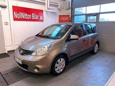 begagnad Nissan Note 1.4 AC Dragkrok 2011, Halvkombi 39 900 kr