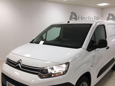 begagnad Citroën Berlingo Låga mil Manuell L1 2019, Transportbil 174 875 kr