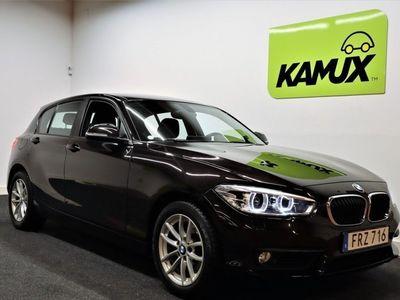 begagnad BMW 118 d Model Sport Navi Aut 150hk -16
