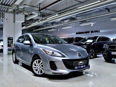 begagnad Mazda 3 1.6DE NYBES AC SVENSK 115HK LÅG ÅRSSKATT