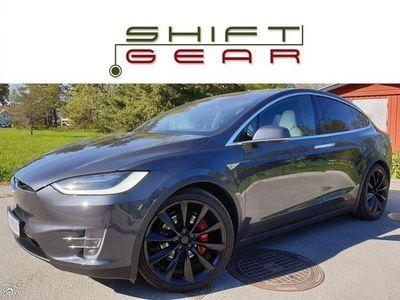 begagnad Tesla Model X P90D+L SIGNATURE 6-sits FULLUTR -16