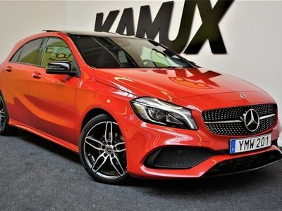 begagnad Mercedes A200 | AMG Sport | Panorama