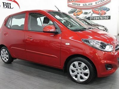 gebraucht Hyundai i10 1.1 (67hk) En Ägare_Ny bes-Låge mil
