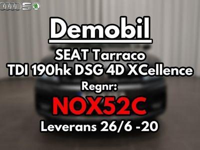 begagnad Seat Tarraco TDI 190hk DSG 4Drive XCellence