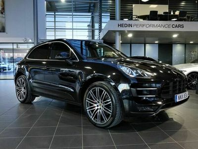 begagnad Porsche Macan Turbo Svensksåld