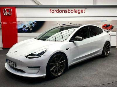begagnad Tesla Model 3 Long Range AWD AP SE SPEC
