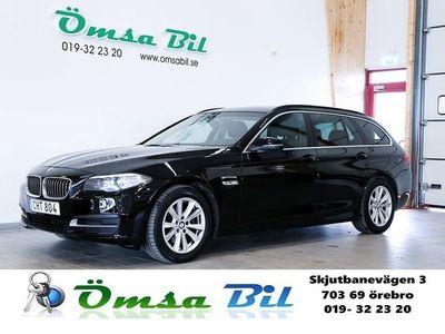 begagnad BMW 520 d Touring DVÄRMARE DRAG 190hk -15