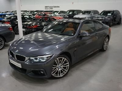 begagnad BMW 430 i / xDrive / Coupé / M-Sport / Innovation / H&K / Head Up