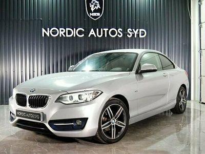 begagnad BMW 218 d Coupé Steptronic Sport line Euro 6 2015, Personbil 199 900 kr