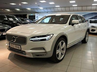 """begagnad Volvo V90 CC D4 AWD OceanRace, Polestar, Teknikpkt VOR, Klimatpaket VOC, Harman Kardon, VOR 20"""", Drag, Nav, Smartphone integration"""