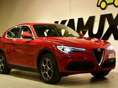 begagnad Alfa Romeo Stelvio 2.0 TBi Q4 Aut 280hk First Edit Skinn