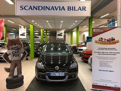 begagnad VW Golf Cross1.4 TSI 140hk DRAG 1 Ägare