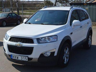 begagnad Chevrolet Captiva 2.2-4WD-184hk-7 Sits-AUT -12