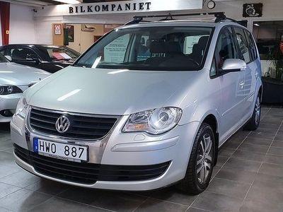 begagnad VW Touran 2.0 EcoFuel, Travel,7-sits -09