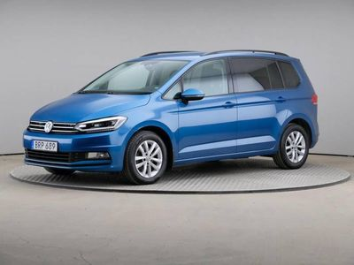 begagnad VW Touran Tdi 150 7-Sits Pluspaket Värmare Drag