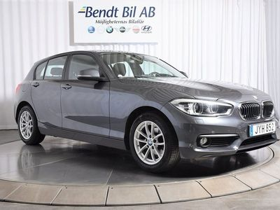 begagnad BMW 116 d 5-door Steptronic Advantage 2016, Personbil 154 500 kr