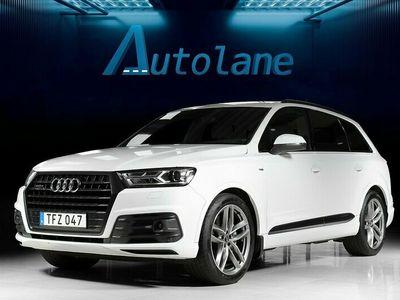 begagnad Audi Q7 3.0 TDI V6 quattro S-Line Eu6 7-sits 272hk