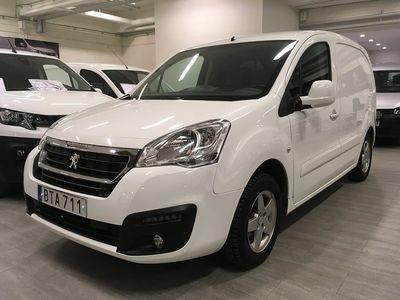 begagnad Peugeot Partner 1,6 BHDi 100hk (3-sits)