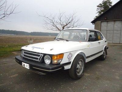begagnad Saab 900 Turbo16 Classic rallybil m tillbehör