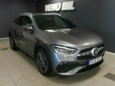 begagnad Mercedes 200 GLA Benzd 4-Matic AMG Dragkrok 2021, Halvkombi Pris 429 000 kr