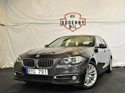 begagnad BMW 520 d/184HK/EU6/LUXURY LINE/NAVI/SOFT&CLOSE/SKINN