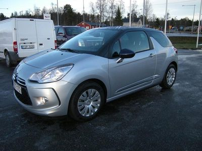 begagnad Citroën DS3 1,2 Pure Tech 82Hk 200 mil Spargris