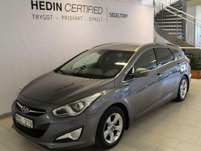begagnad Hyundai i40 1,7 CRDi 136hk Kombi Drag S+V-hjul