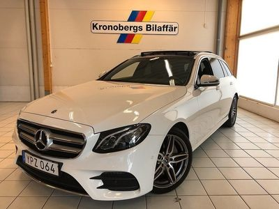 begagnad Mercedes E220 4MATIC 9G-Tronic AMG 194hk Panorama